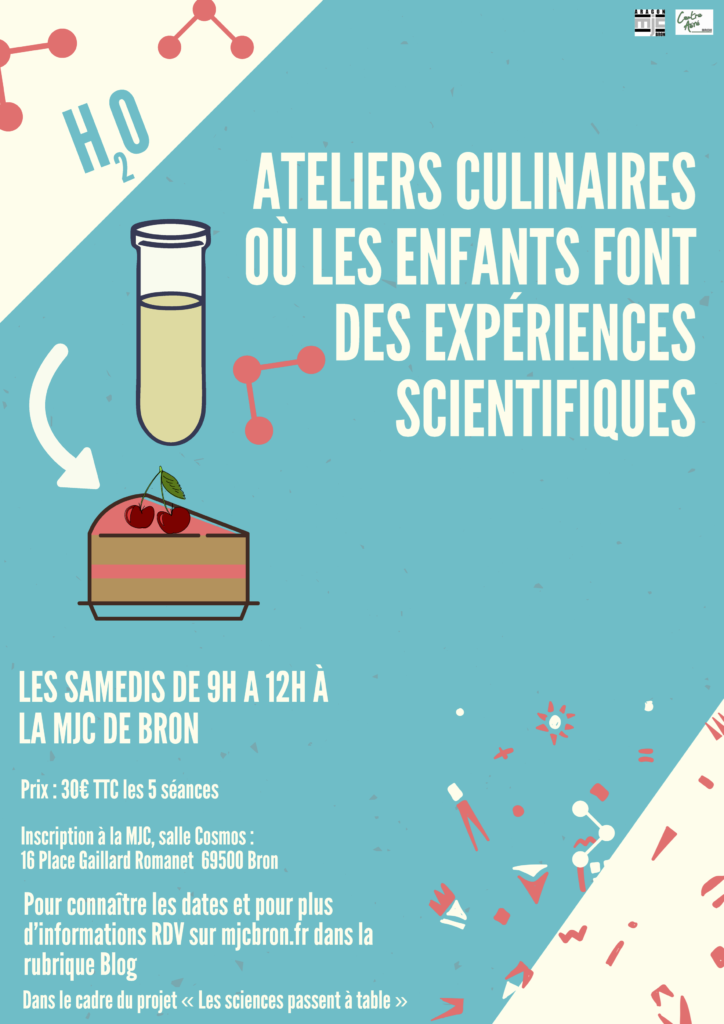 Prospectus atelier culinaires